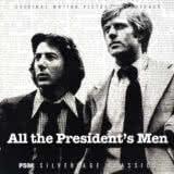 Маленькая обложка диска c музыкой из фильма «Вся президентская рать»