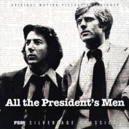 Обложка к диску с музыкой из фильма «Вся президентская рать»