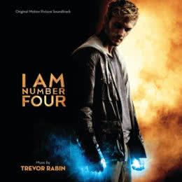 Обложка к диску с музыкой из фильма «Я — четвёртый»