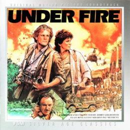 Обложка к диску с музыкой из фильма «Под огнём»