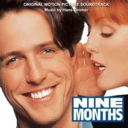 Обложка к диску с музыкой из фильма «Девять месяцев»