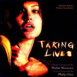 Обложка к диску с музыкой из фильма «Забирая жизни»