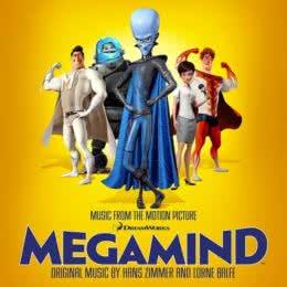 Обложка к диску с музыкой из мультфильма «Мегамозг»