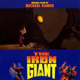 Обложка к диску с музыкой из мультфильма «Стальной гигант»