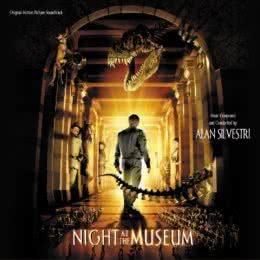 Обложка к диску с музыкой из фильма «Ночь в музее»