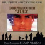 Маленькая обложка диска c музыкой из фильма «Рождённый четвёртого июля»