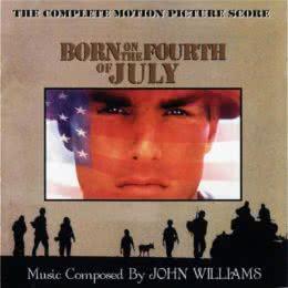Обложка к диску с музыкой из фильма «Рождённый четвёртого июля»