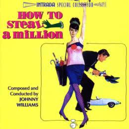 Обложка к диску с музыкой из фильма «Как украсть миллион»