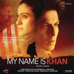 Обложка к диску с музыкой из фильма «Меня зовут Кхан»