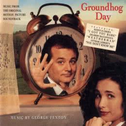 Обложка к диску с музыкой из фильма «День сурка»