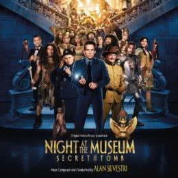 Обложка к диску с музыкой из фильма «Ночь в музее: Секрет гробницы»
