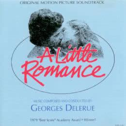 Обложка к диску с музыкой из фильма «Маленький роман»