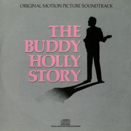 Обложка к диску с музыкой из фильма «История Бадди Холли»