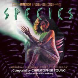 Обложка к диску с музыкой из фильма «Особь»