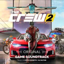 Обложка к диску с музыкой из игры «The Crew 2»