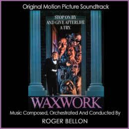 Обложка к диску с музыкой из фильма «Музей восковых фигур»