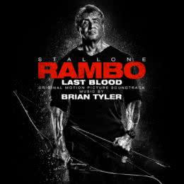 Обложка к диску с музыкой из фильма «Рэмбо: Последняя кровь»