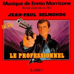Обложка к диску с музыкой из фильма «Профессионал»