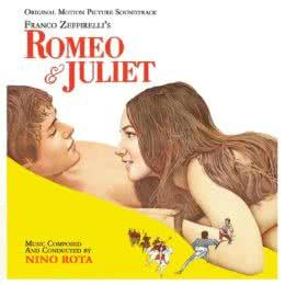 Обложка к диску с музыкой из фильма «Ромео и Джульетта»