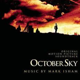 Обложка к диску с музыкой из фильма «Октябрьское небо»