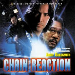 Обложка к диску с музыкой из фильма «Цепная реакция»
