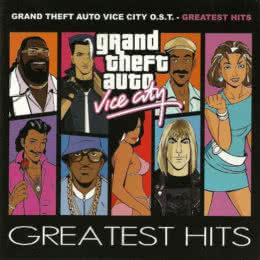 Обложка к диску с музыкой из игры «Grand Theft Auto: Vice City»