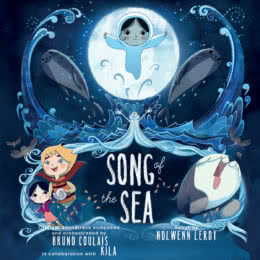 Обложка к диску с музыкой из мультфильма «Песнь моря»