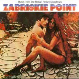 Обложка к диску с музыкой из фильма «Забриски Пойнт»