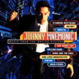 Маленькая обложка диска c музыкой из фильма «Джонни Мнемоник»