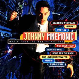 Обложка к диску с музыкой из фильма «Джонни Мнемоник»