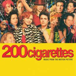 Обложка к диску с музыкой из фильма «200 сигарет»