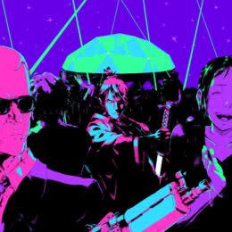 Обложка к диску с музыкой из игры «Katana Zero»