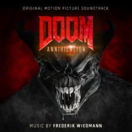 Обложка к диску с музыкой из фильма «Doom: Аннигиляция»