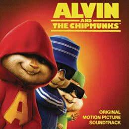 Обложка к диску с музыкой из мультфильма «Элвин и бурундуки»