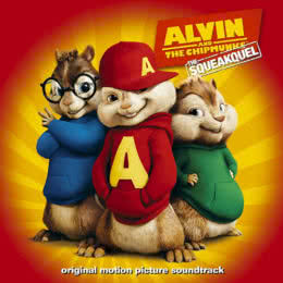 Обложка к диску с музыкой из мультфильма «Элвин и бурундуки 2»