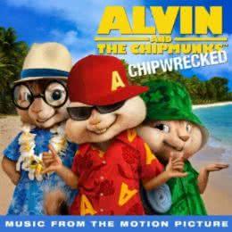 Обложка к диску с музыкой из мультфильма «Элвин и бурундуки 3»