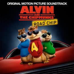 Обложка к диску с музыкой из мультфильма «Элвин и бурундуки: Грандиозное бурундуключение»