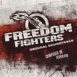 Обложка к диску с музыкой из игры «Freedom Fighters»
