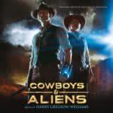 Маленькая обложка диска c музыкой из фильма «Ковбои против пришельцев»