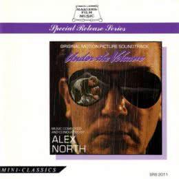 Обложка к диску с музыкой из фильма «У подножия вулкана»