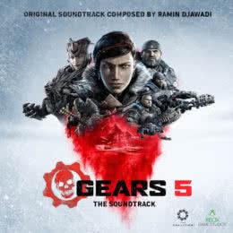 Обложка к диску с музыкой из игры «Gears 5»