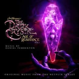 Обложка к диску с музыкой из сериала «Тёмный кристалл: Эпоха сопротивления (1 сезон, volume 1)»