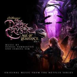 Обложка к диску с музыкой из сериала «Тёмный кристалл: Эпоха сопротивления (1 сезон, volume 2)»