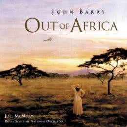 Обложка к диску с музыкой из фильма «Из Африки»