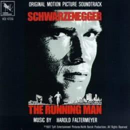 Обложка к диску с музыкой из фильма «Бегущий человек»