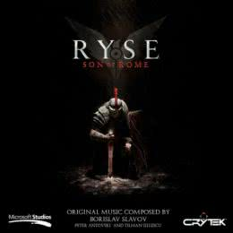 Обложка к диску с музыкой из игры «Ryse: Son of Rome»