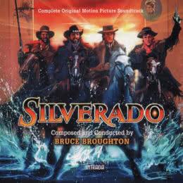 Обложка к диску с музыкой из фильма «Сильверадо»
