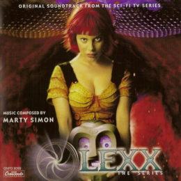 Обложка к диску с музыкой из сериала «Лексс»