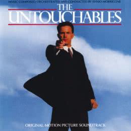Обложка к диску с музыкой из фильма «Неприкасаемые»
