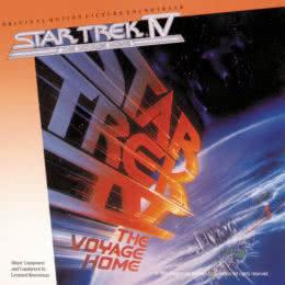 Обложка к диску с музыкой из фильма «Звёздный путь 4: Путешествие домой»